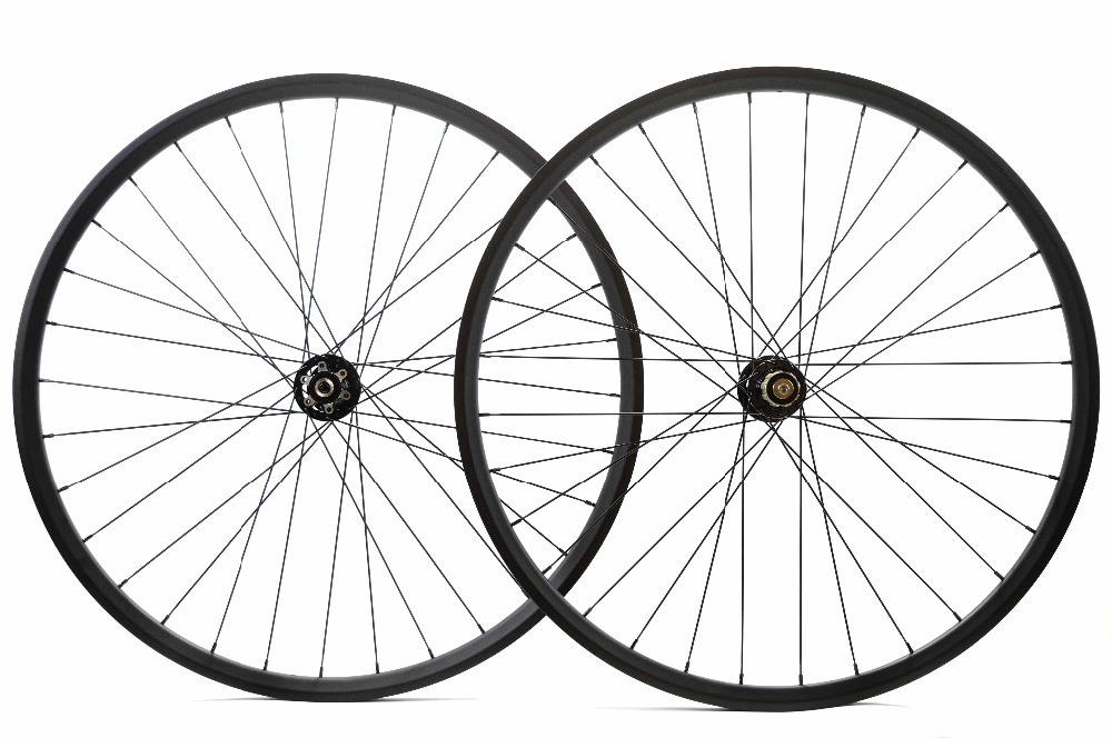 1400g!29ER 27mm Width 25mm depth MTB hookless Carbon Wheels Mountain bike XC carbon wheelset super light tubuless rim oem mtb wheelset 29er mtb wheelset mountain bike 27mm width carbon wheel hookless mtb wheels with novatec hub