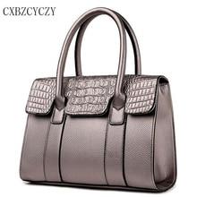 Neue Frauen Handtasche Designer Leder Schulter frau Modemarke Messenger Crossbody Luxus taschen Krokoprägung Damen Taschen
