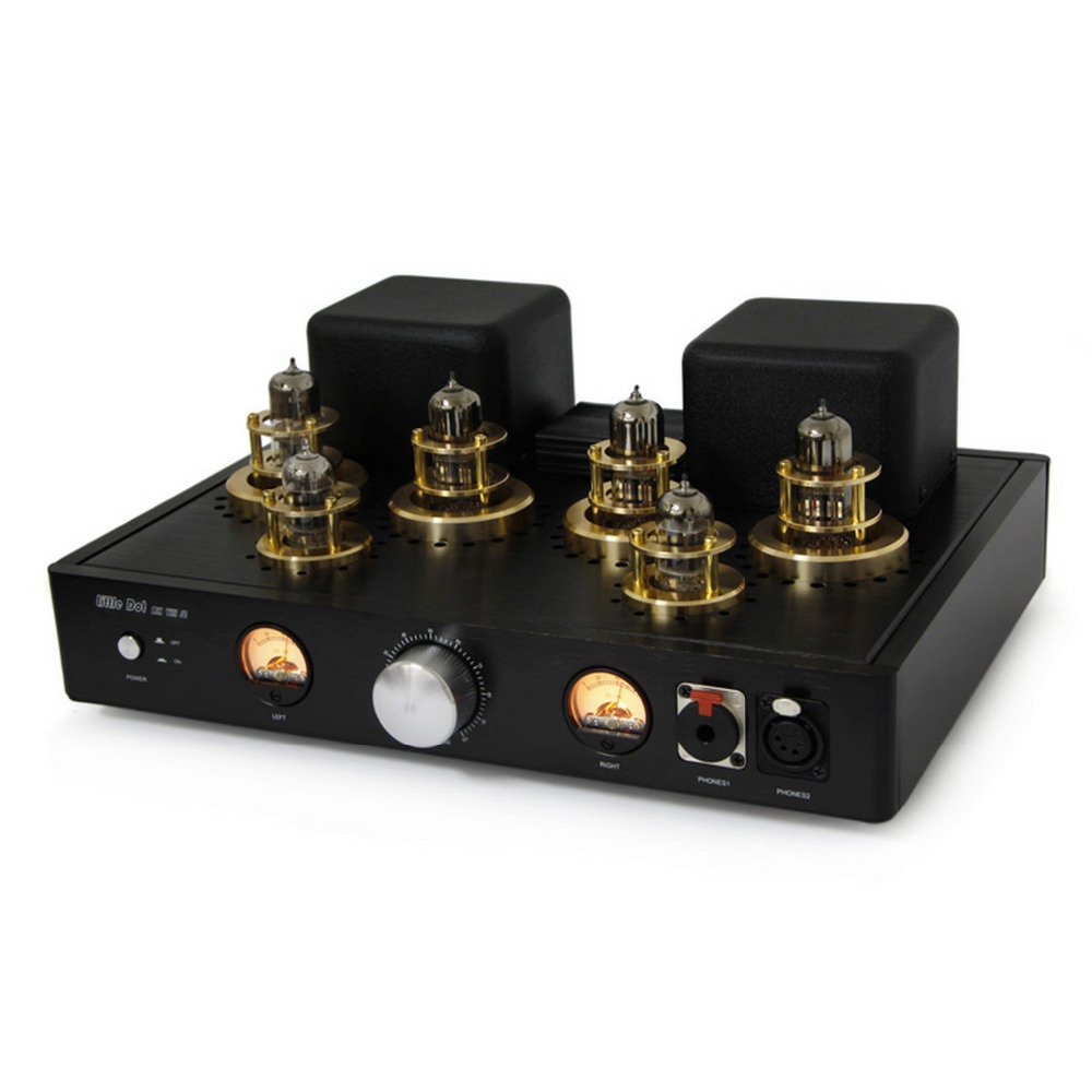 Little Dot MK8 VIII SE 12AT7 X2 6H30PI X4 Balanced Headphone Tube Amplifier Flagship Full balance Vacuum Tube Balanced Amp