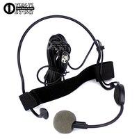 Mini XLR 4 Pin TA4F Headworn Headset Mikrofon Professionelle Gesangs Dynamisches Mikrofon Für SHURE WH20TQG Drahtlose Sender UR4D UR4S