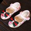 2017 Nuevos Zapatos de Las Muchachas Del Tobillo Correa de La Princesa Primavera Zapatos de Bebé Girls Ballet Shoes Primeros Caminante Sapatos Meninas