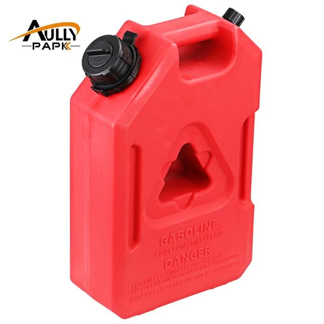 Plastic Fuel Tank >> 1gallon Fuel Tank Cans Spare Plastic Petrol Tanks Mount Motorcycle