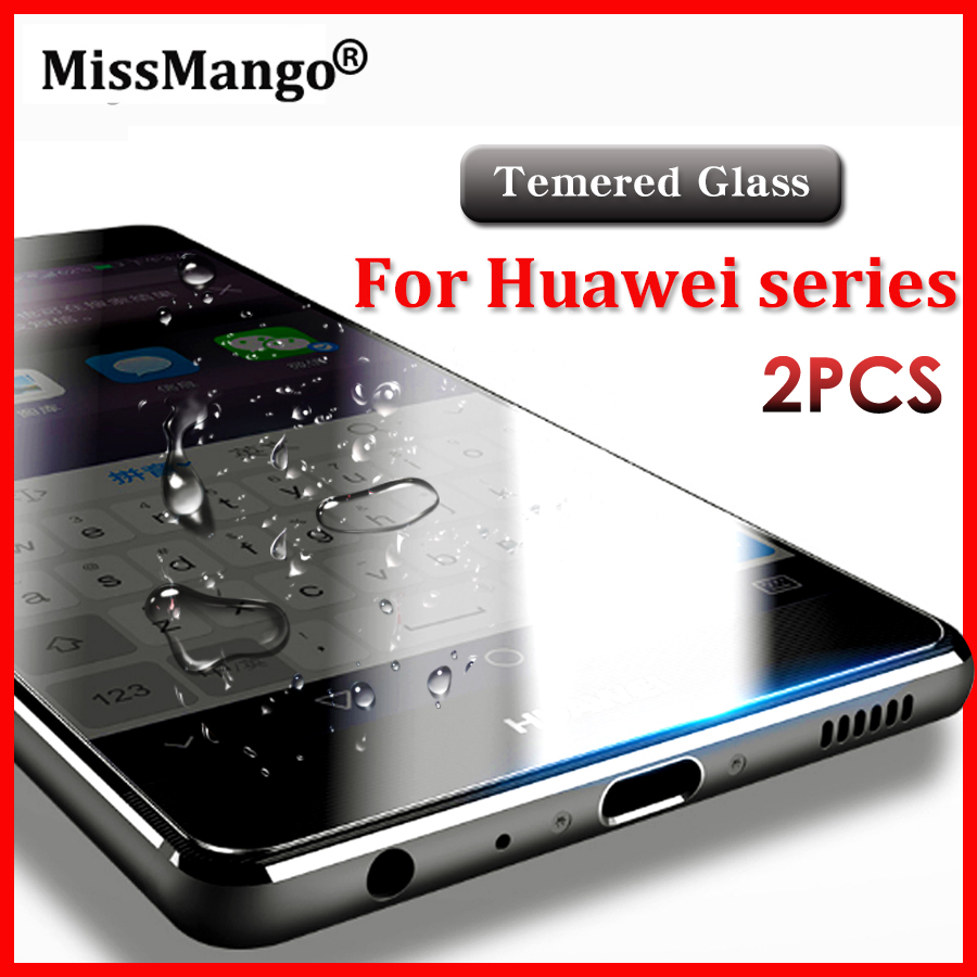 Tempered Glass For Huawei P10 P 10 Lite Plus Y5ii Y3ii 2 mate s honor 5a For Huawei P8 Lite 2017 Nova Screen Protector Film 2pcs