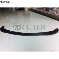 For Infiniti G37 standard Bumper Carbon fiber Front Bumper Lip Spoiler car body kit 2009