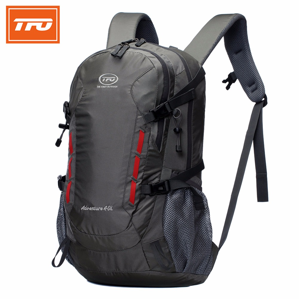 5e2eaa0af29e TFO 40L Waterproof Hiking Backpack bags Outdoor backpack Camping Mountain  Sport Climbing Travel Men Women hiking backpacks 2017