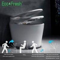 Ecofresh Smart Туалет Авто Туалет крышки и сиденья флип автоматическим washlet умный туалет крышка стирка сухой массаж