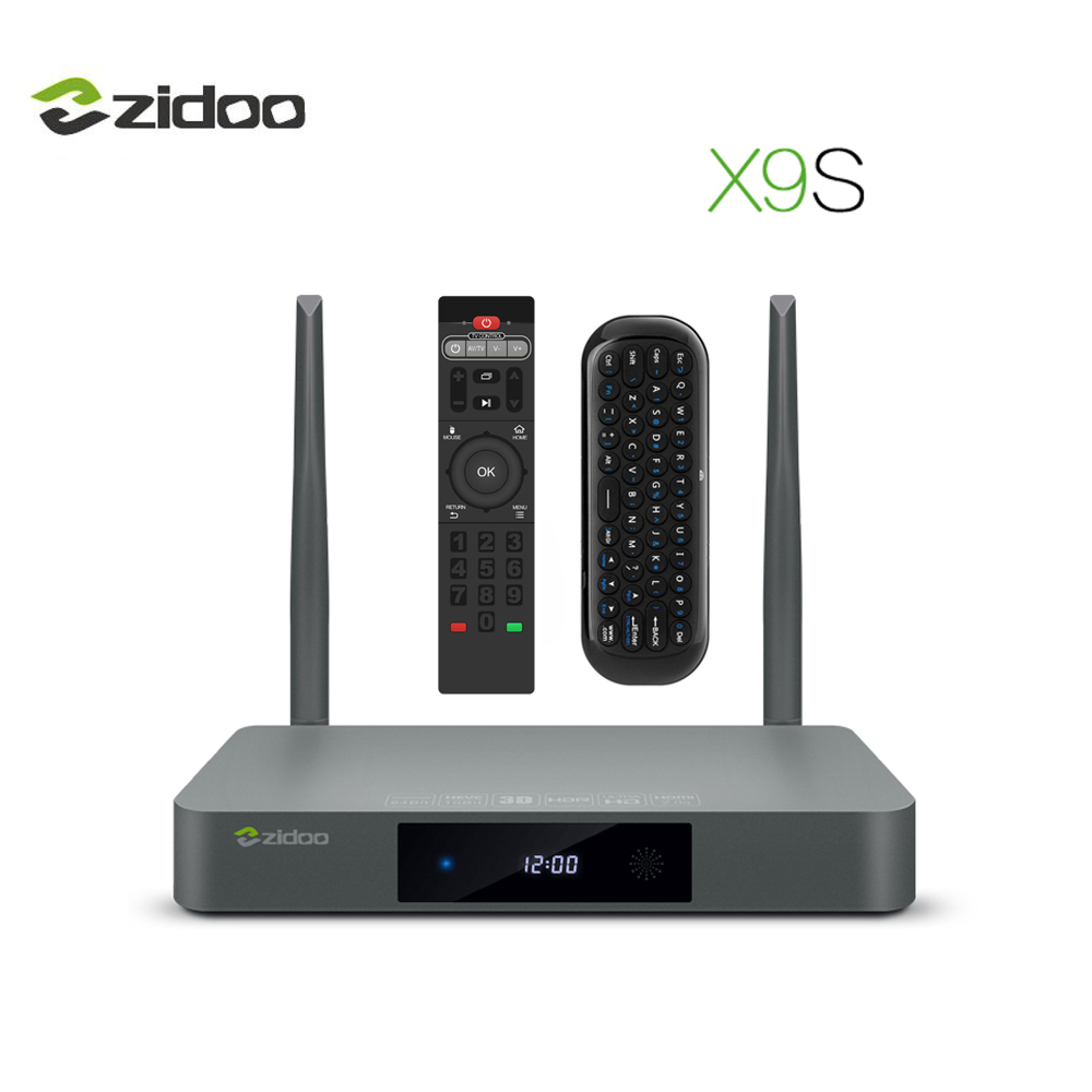 Zidoo XS TV BOX Android  Quad Core HDMI  BT