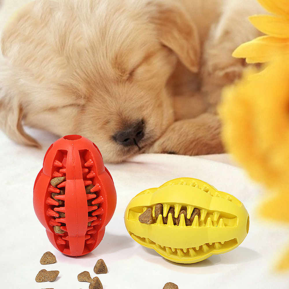 Transer Juguetes Dog Molar Stick Rubber Ball Effective Tooth Red Brush Leakage Food Teeth Cleaning For Hamster 18 Dec28