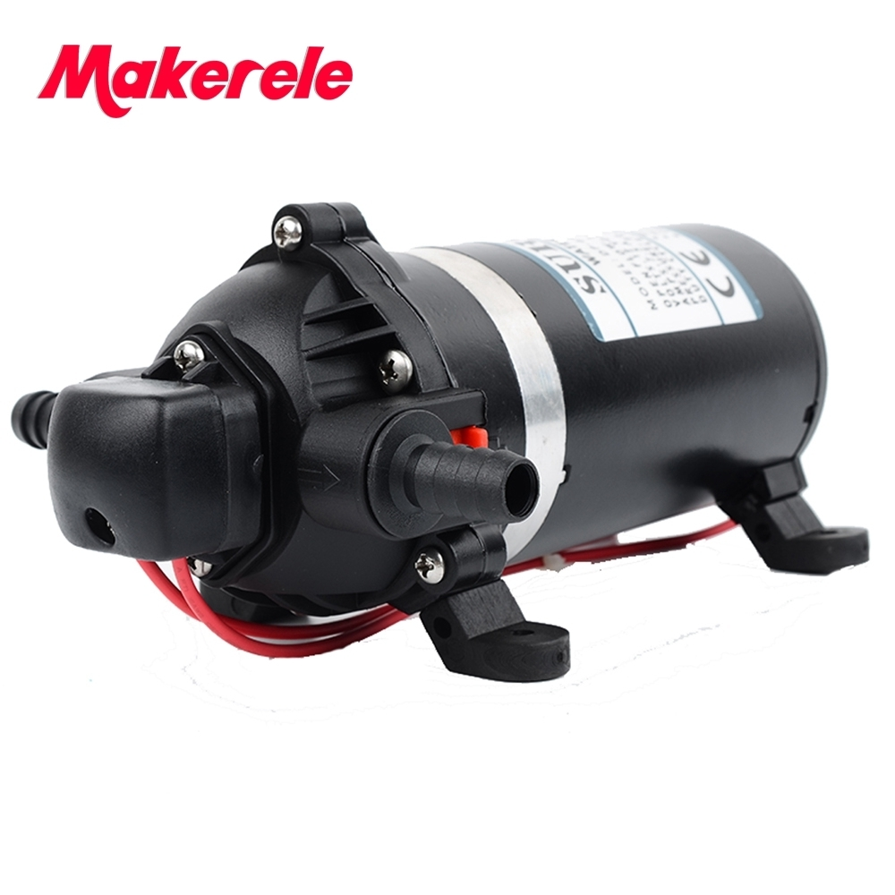 High Pressure Diaphragm Pump 12V 220V Booster Water For Wash Machine,clear Machine,sweeper,agriculture Sprayer From Makerele
