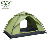 Lightweight Automatic Tents Outdoor Camping 2 People Waterproof UV Weather Resistant Hiking Beach Tourist Tents Fishing Travel