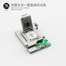 Mijin 5 in 1 sabit disk testi fikstür, 5 in 1 sabit disk testi desteklemek için raf 5G/5C/5 S/6G/6 P serisi sabit disk testi