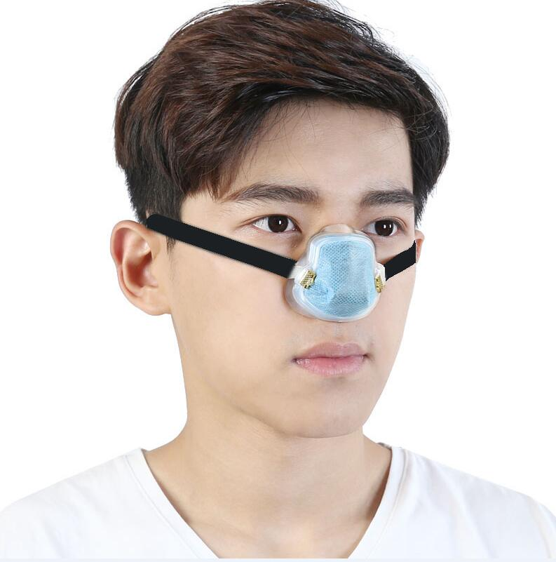 Dust mask haze breathable N95 respirator industrial dust nose pollen + 10  pieces of filter cotton thermal protection