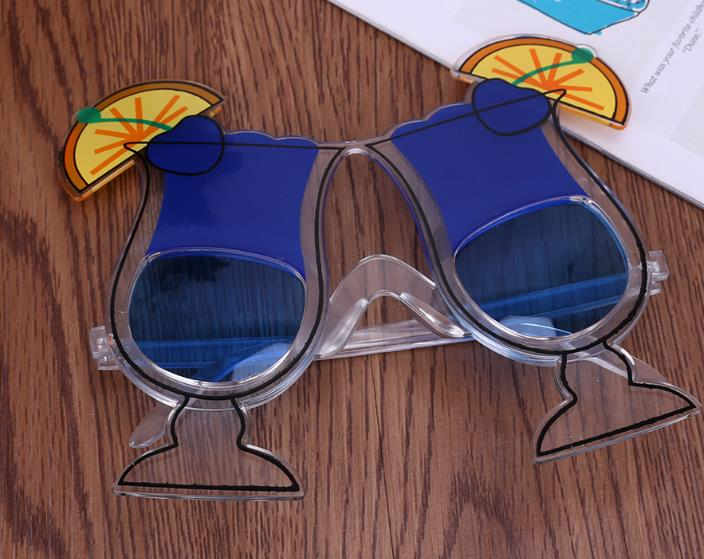 Funny Hawaiian Party Glasses Eyewear Cocktail Fancy Dress Accessories