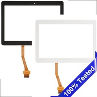 SanErqi Tested New Digitizer For Samsung Galaxy tab 3 10.1 p5200 p5210 p5220 Touch Screen Tablet Digitizer Display Glass Sensor
