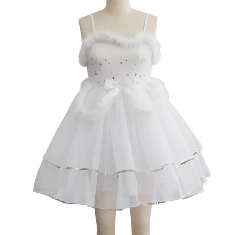 Vestidos infantiles para niñas Elsa Vestido de ballet para niños - Disfraces