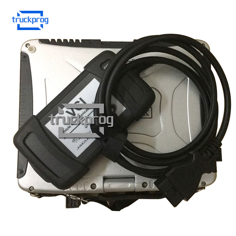 Diagnostic kit for JLR Jaguar and Land Rover obd2 Diagnostic Scanner with USB Cable CF19 Laptop auto Diagnosis tool