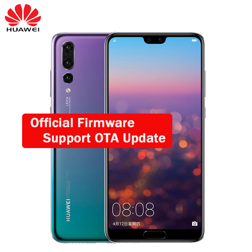 US $599 99 |Huawei P20 Pro Android 8 1 Face ID Full LTE Band Smartphone  40MP Triple Rear Cameras 6 1 inch Screen SuperCharge NFC-in Mobile Phones  from