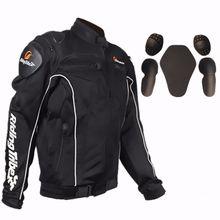 Frete grátis 1 pcs dos homens de moto jaqueta de corrida de motocross da motocicleta protetor de artes roupas com 5 pcs almofadas