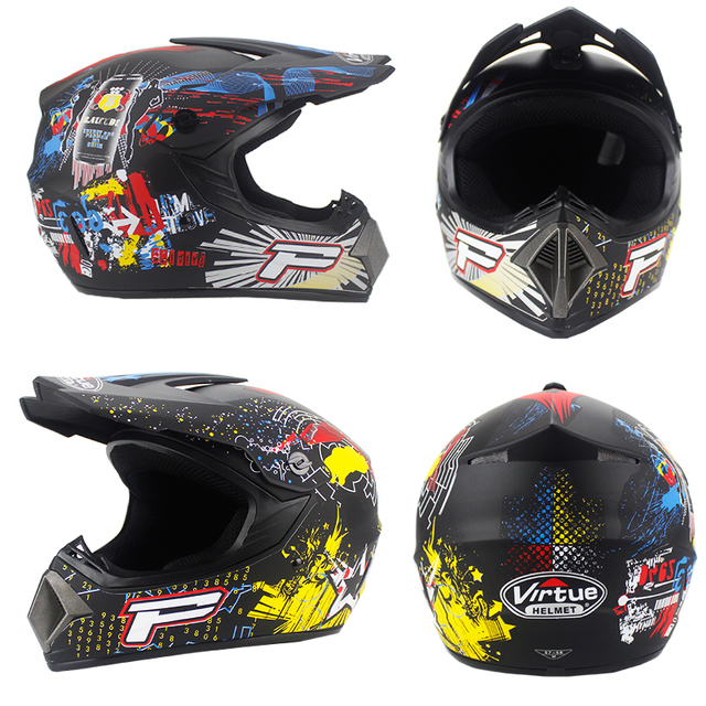 Free Shipping Professional Racing Motocross Casque Hors Route Casque