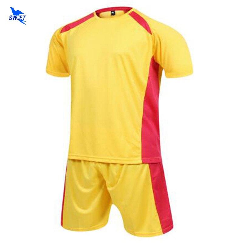 Custom Print Men Women Football Kits Soccer Set Blank Training Jerseys College Futsal Wear Suits Team Sport Uniforms Sportswear