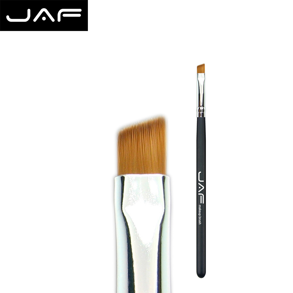 JAF Angled Eyebrow Brush Synthetic Taklon Hair Gel Eyeliner Brush Brand Make Up Eye Liner Brush Bevel Brush for Eye Brow #04SBYA intensive eyebrow tinting brush for brow tint dye colour