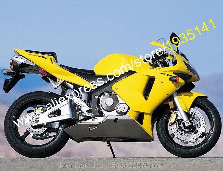 Горячие продаж,дешевые мотоциклов Обтекателя для Honda CBR600RR F5 на 2003 2004 ЦБ РФ 600 рублей 03 04 Спортбайк обтекатель комплект (литья под давлением)