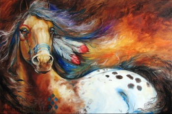 Top Painter High Skill Hand Painted the Healthy and Energetic Horse Waterproof Knife Oil Painting on Canvas Home Decor for Hotel