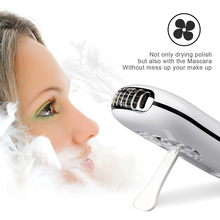 New portable Eyelash dryer  hand held nail dryer desk  air conditioner humidification cooler cooling fan mini portable cooling fan hand battery fan cute held desk cooler air conditioner smaller air appliance machine for travel