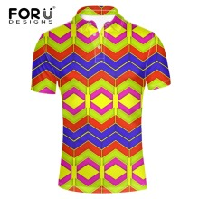 FORUDESIGNS New 2017 Fashion Men Polo Shirts Slim Fit Short Sleeve bright-color Clothing Summer breathable