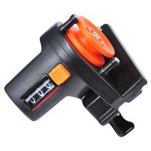 Инструмент для измерения глубины, тестер для снастей, 0-999 м, портативный инструмент для поиска лески, счетчик длины