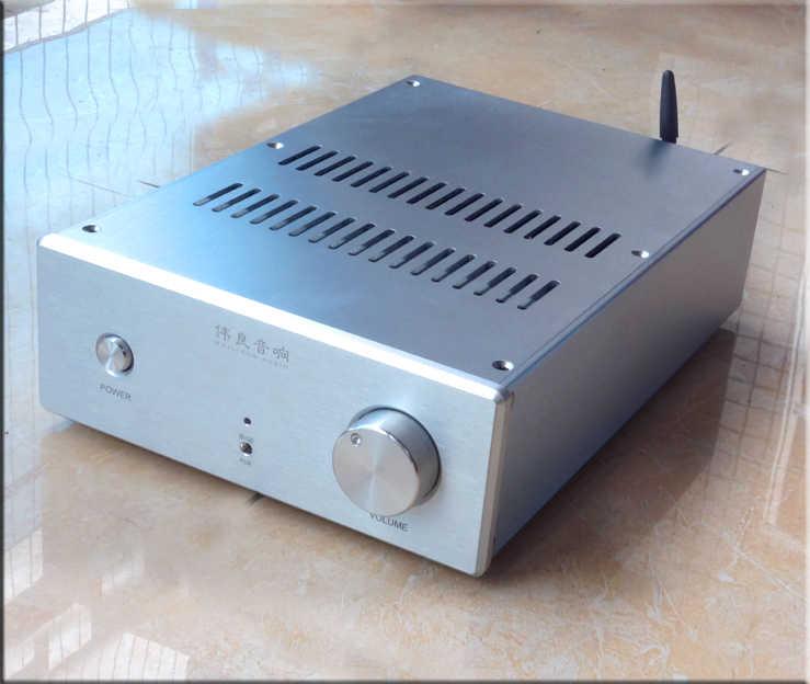 UPC1342V עם טושיבה 5200/1943 צינור פלט 150 W + 150 W מתח גבוה ערוץ כפול מגבר כוח HiFi Bluetooth 4.0 מגבר