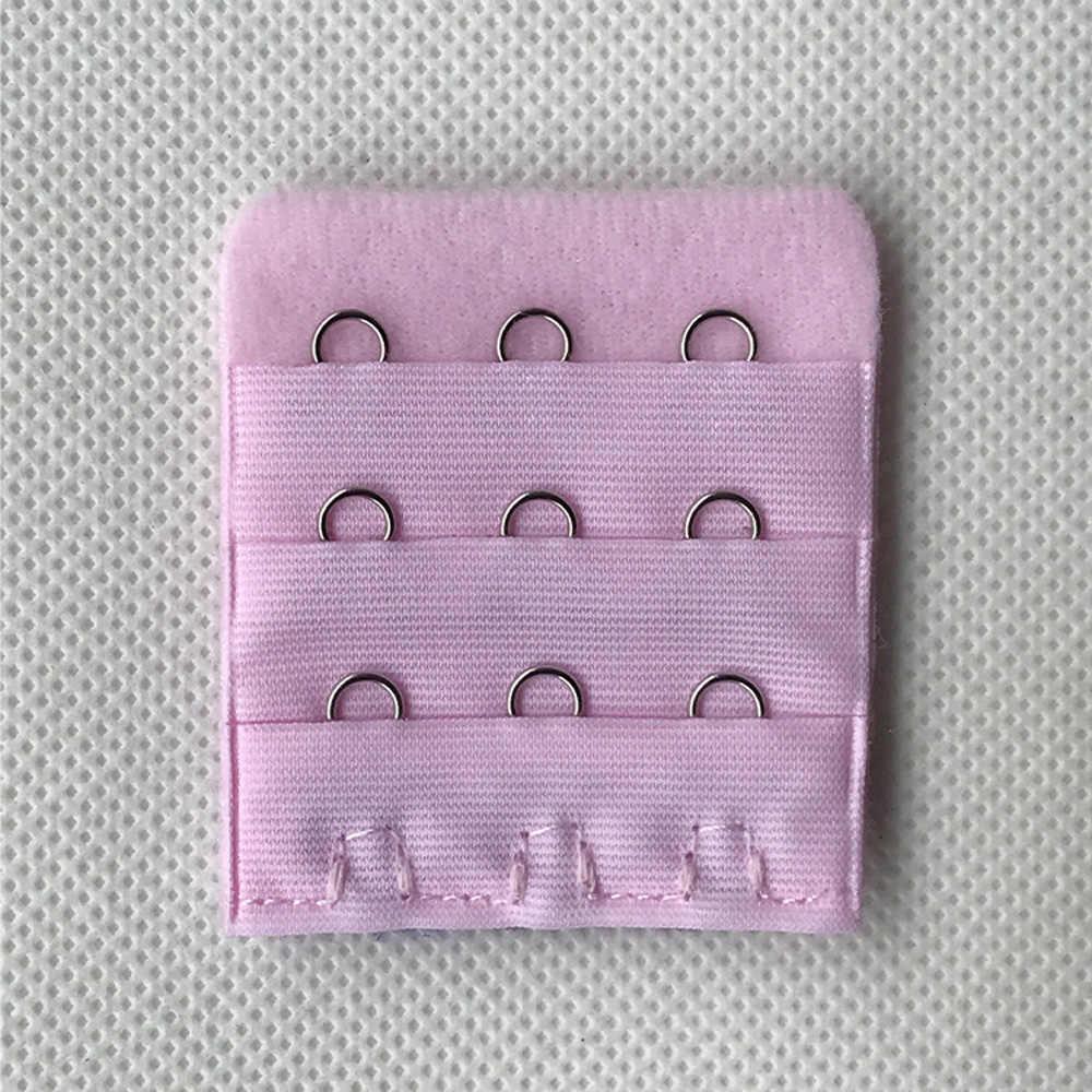 La MaxPa 1PC חזיית רצועת אבזם הארכת 3 שורות 3 ווי אבזם רצועות נשים חזיית Extender תפירה כלי מקורבי אביזרי k1480