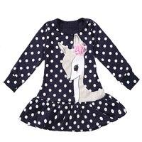 Baby Girls Dress Customes Kids Clothes Toddler Children Clothing Deer Roupas Infantil Meninas Infantis Disfraz Disfraces