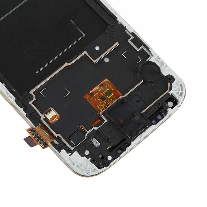 I9505 شاشات lcd لسامسونج غالاكسي S4 i9505 شاشة الكريستال السائل محول الأرقام بشاشة تعمل بلمس الجمعية كاملة مع الإطار ل سامسونج i9505 شاشة الكريستال السائل