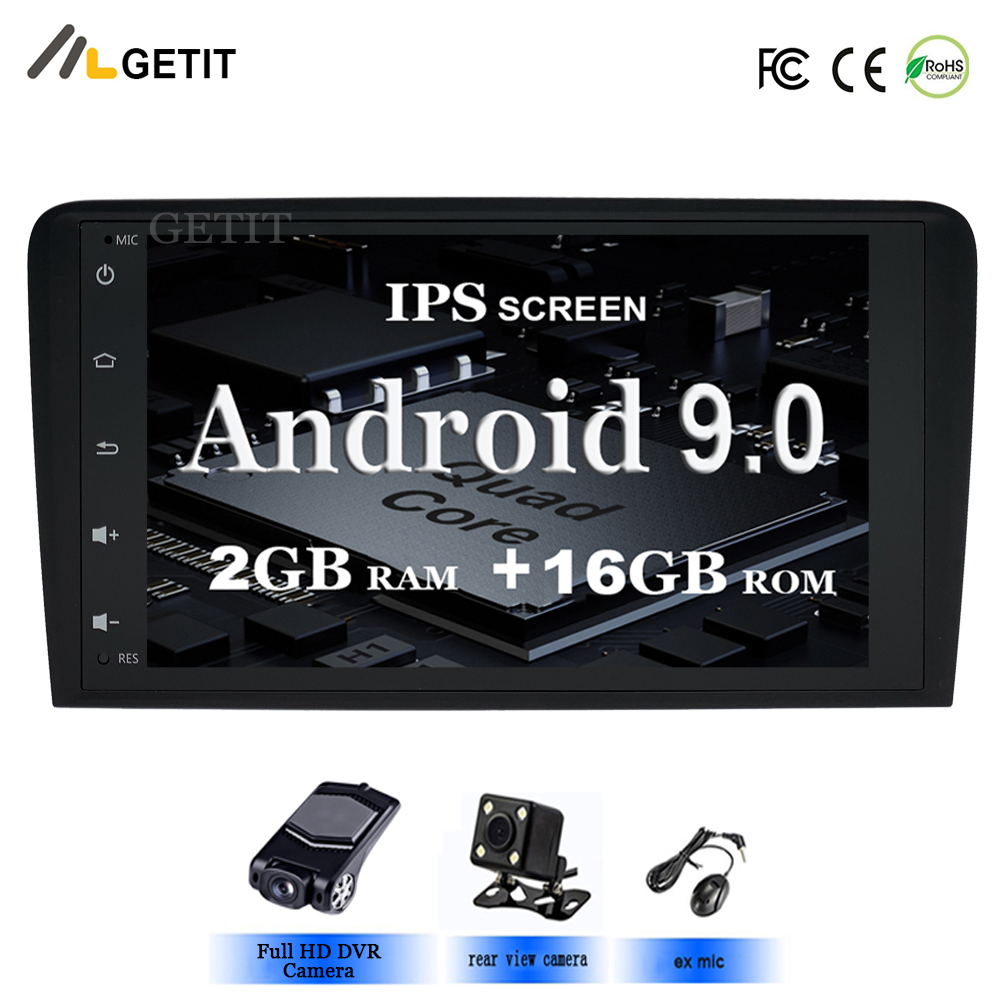 IPS 8 Android 9 0 CAR DVD GPS For Audi A3 8P 2003 2012 S3 2006