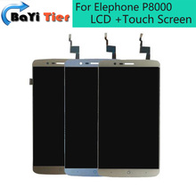 100% For Elephone P8000 LCD Display + Touch Screen + Tools Newst Digitizer Assembly Replacement Repair Accessories in Stock
