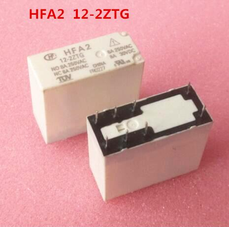 relay HFA2 12-2ZTG HFA2-12-2ZTG 8A 250VAC DIP8relay HFA2 12-2ZTG HFA2-12-2ZTG 8A 250VAC DIP8