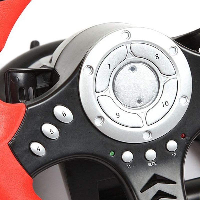 2017 new shock simulation automobile race game steering wheel pc usb computer games steering wheel Learning to drive With pedal race tech race shock spring 5 0 kg mm atv srsp 652650 srsp 652650