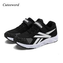 Children casual shoes boys mesh breathable sports non-slip kids outdoor sneakers girls running for tide