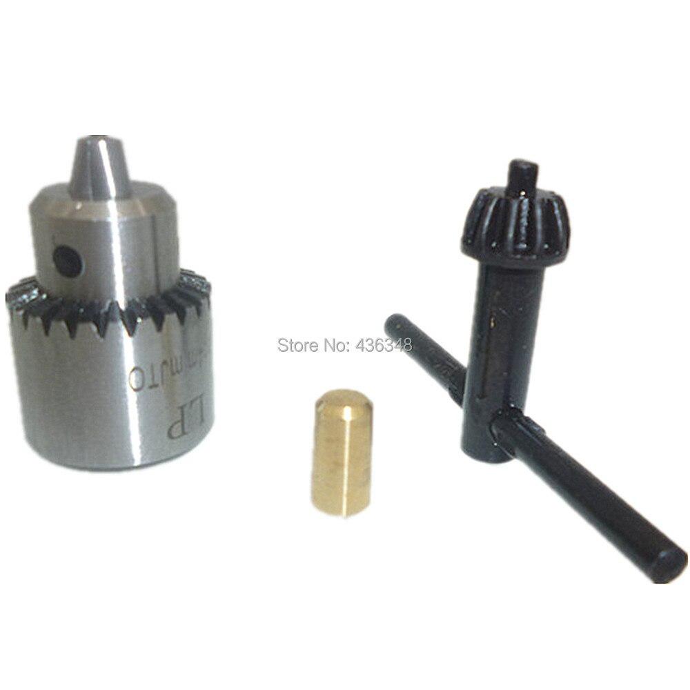 3.17mm Brass Mini Motor Coupling Shaft Coupler Drill Clamp Chuck Connector