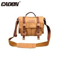 CADeN Wearproof Travel Camera Bag Sling Shoulder Bags Photo Video Soft Dslr Pack Case for Nikon D90 Canon Sony Pentax OlympusF3