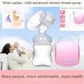 Широкий калибра электрический молокоотсос, безопасный, сантехника, эффективный и удобный/USB Автоматический Электрический Молокоотсосы