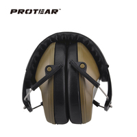 New Professional Soundproof Foldaway Durable Protective Ear Plugs For Noise Peltor Ear Muffs Hearing Ear Protection