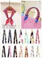 2015 летний стиль имитация шелковый шарф женщин твилли ленты плед печать сумки обрабатывать украшения с бантом подарочная упаковка отпечатано головные уборы