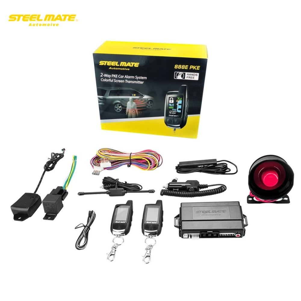 Aliexpress Com   Buy 888e Pke Car Alarm System Remote