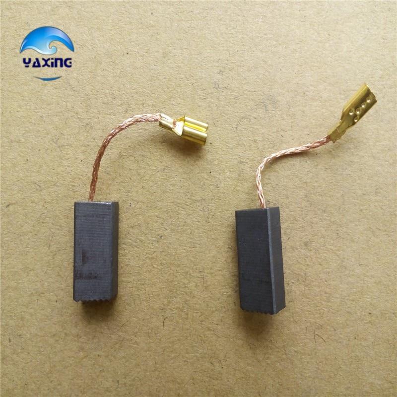 Spazzole di carbone per motori elettrici # 6-100 5x8x15mm Fine 10 - Accessori per elettroutensili - Fotografia 2