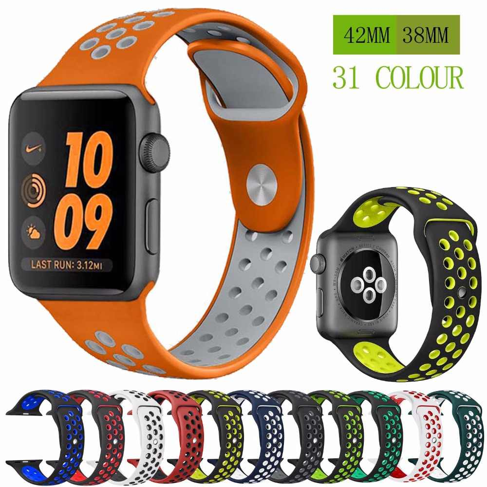 83c050107ef Detail Feedback Questions about Silicone strap band for Nike apple ...