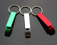 10pcs Pack Key Chain Beer Bottle Opener Small Beverage Keychain Ring Claw Bar Pocket Tool Free