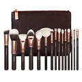New 8/12/15 PCS Makeup Brushes Set Bag brochas maquillaje Blusher Powder Foundation Lipstick Cosmetics Brush Pinceaux Maquiallge
