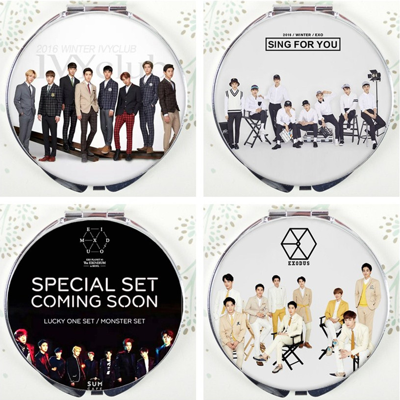 KPOP Ulzzang EXO NX ACT album style harajuku mirror Lay Sehun Chen Chanyeol Do Kai Baekhyun Suho Xiumin K POP K-POP coming over ...